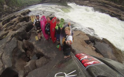 RAW Report – South Africa's Young Up and Coming Kayakers Visit the Mighty Zambezi