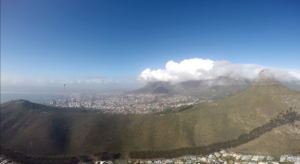 paragliding cape town - signal hill
