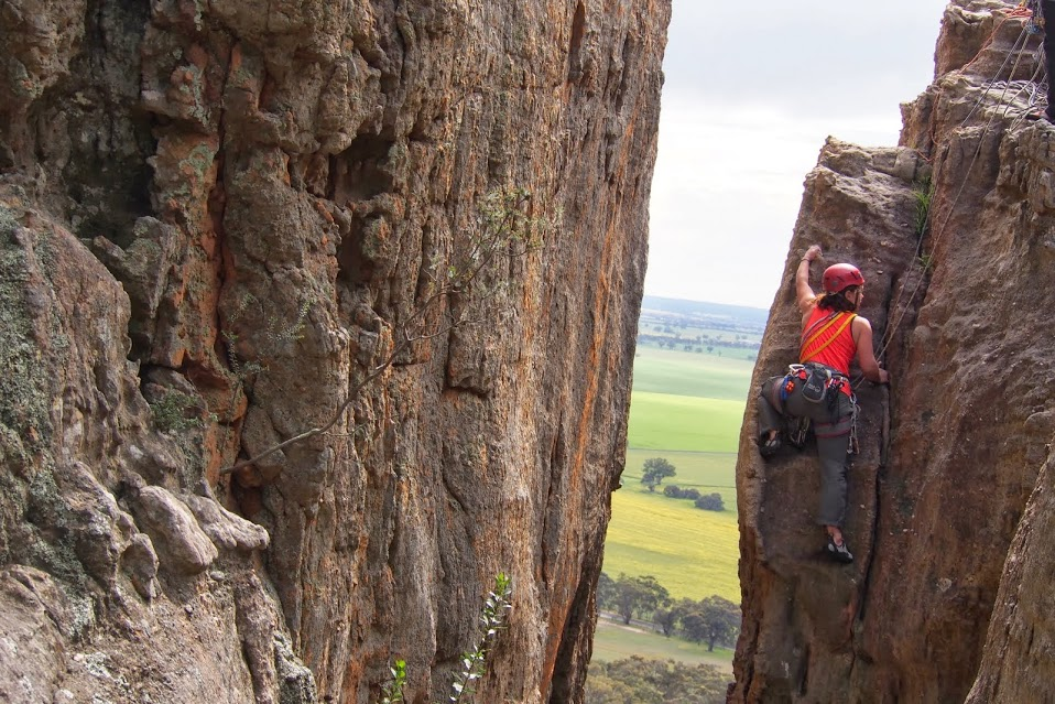 Climbing in Mt Arapiles – Where's your Church