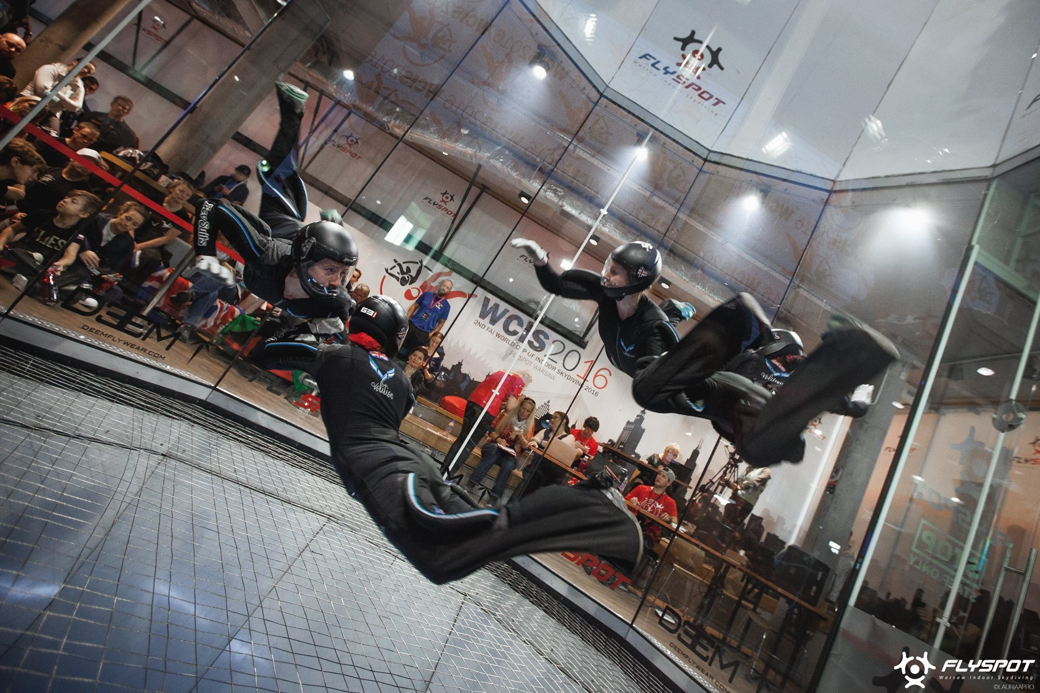 Kate Lindsley Volition Indoor skydive team